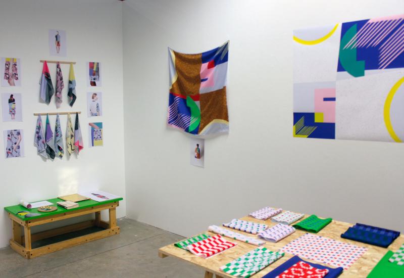 ecole nationale sup rieure des beaux arts de lyon claire goarin dnat design textile 2016. Black Bedroom Furniture Sets. Home Design Ideas