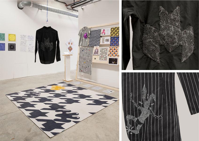 ecole nationale sup rieure des beaux arts de lyon rodolphe ake dnat design textile 2015. Black Bedroom Furniture Sets. Home Design Ideas