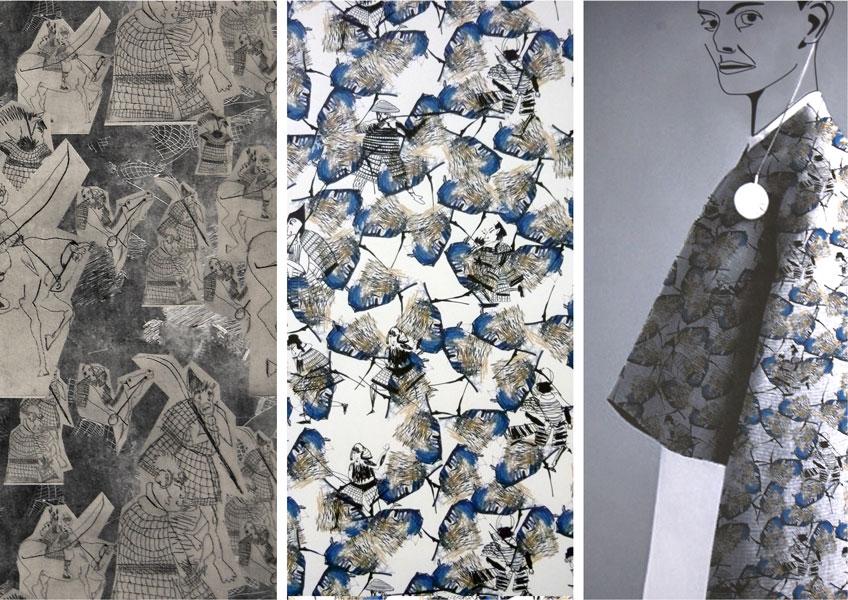 ecole nationale sup rieure des beaux arts de lyon claire iseppi dnat design textile 2015. Black Bedroom Furniture Sets. Home Design Ideas