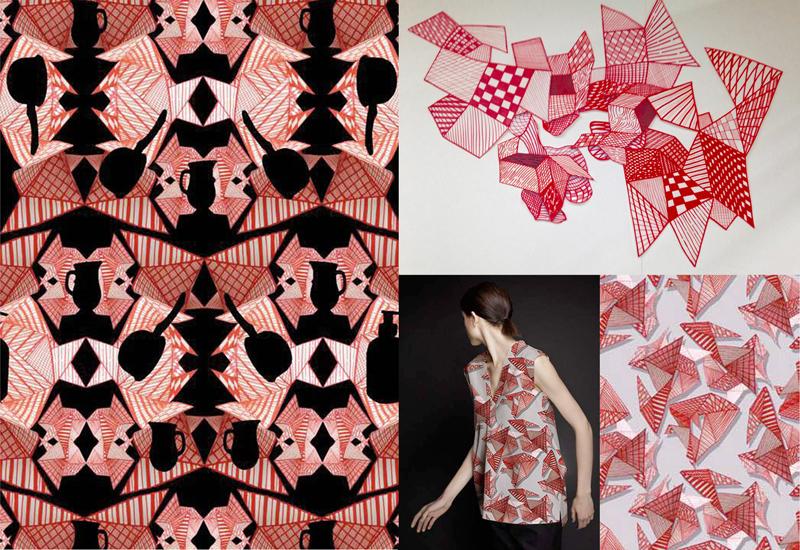 ecole nationale sup rieure des beaux arts de lyon camille bismuth dnat design textile 2016. Black Bedroom Furniture Sets. Home Design Ideas