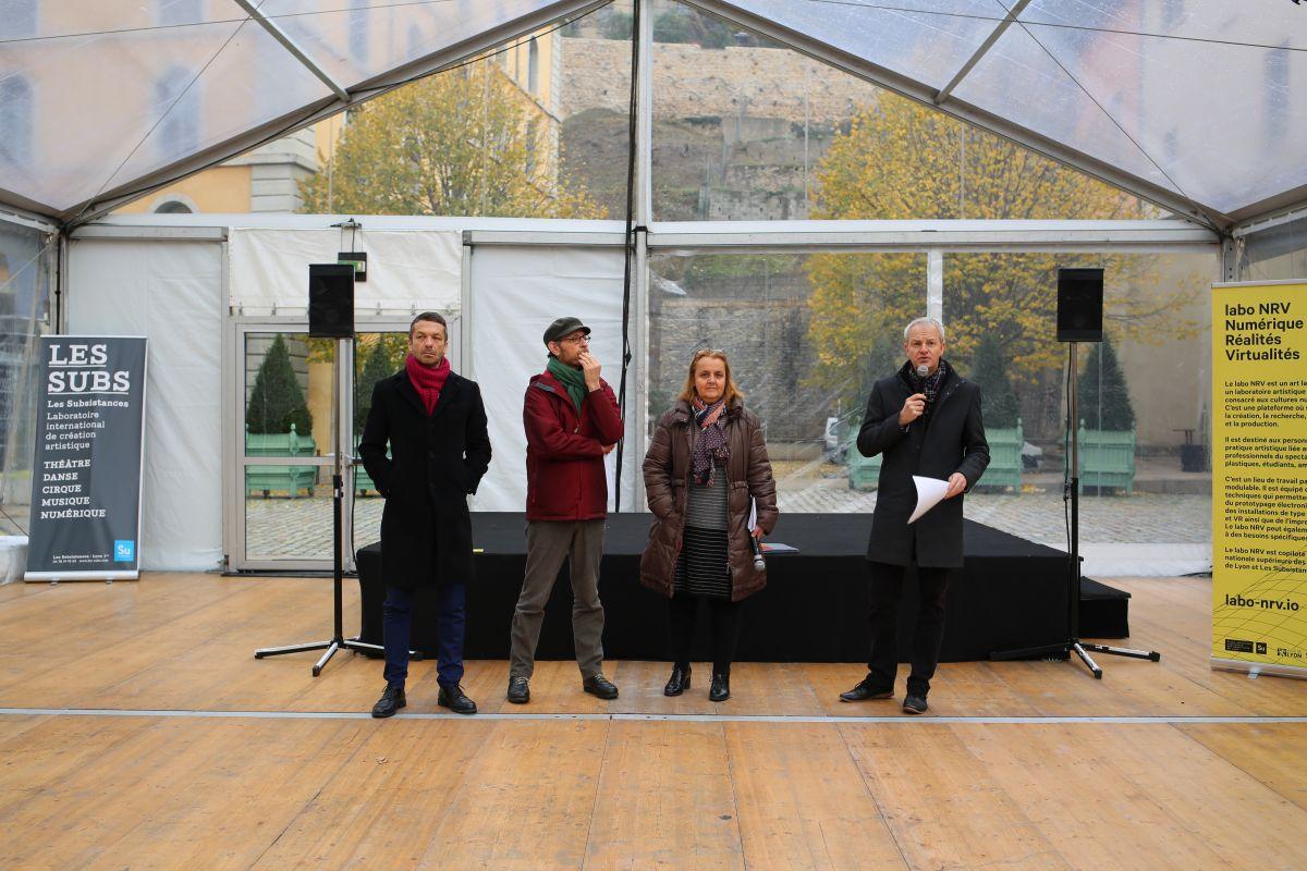 Ecole nationale sup rieure des beaux arts de lyon inauguration et portes ouvertes labo nrv - Portes ouvertes beaux arts toulouse ...